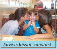 LOVEkissinCousins