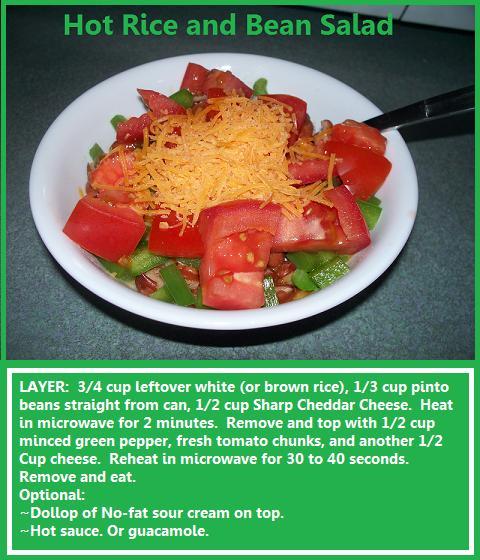 Hot-Rice-and Bean Salad
