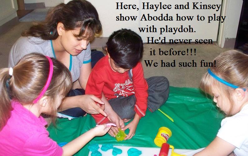 Linda and Playdoh