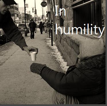 Giving humility