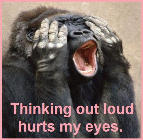 Gorillathinkingoutloud
