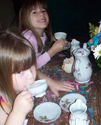 Teaparty with Grama