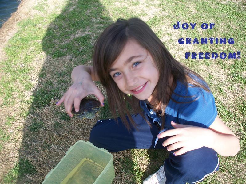 Granting freedom