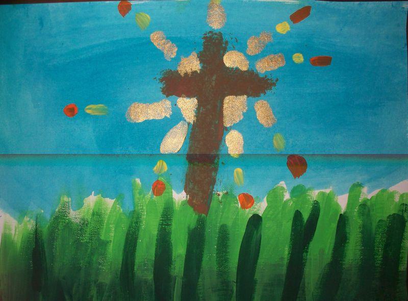 Haylee's cross