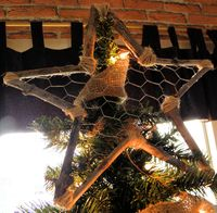 Star chicken wire