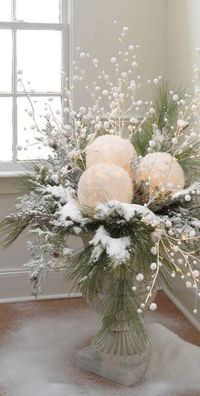Snowball balloon light