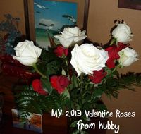 Roses from hubby