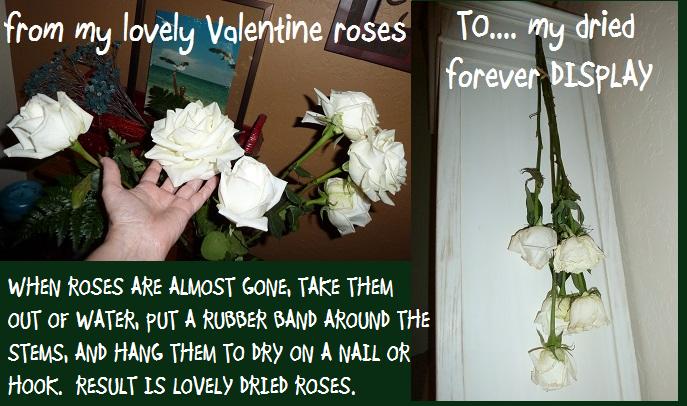 VALENTINE roses make-over