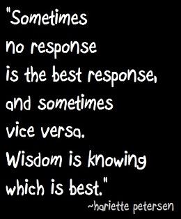 Quote wisdom response