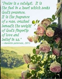 Roses and praise