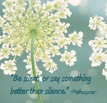 Quote Silence