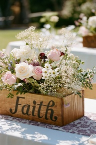 Centerpiece box FAITH
