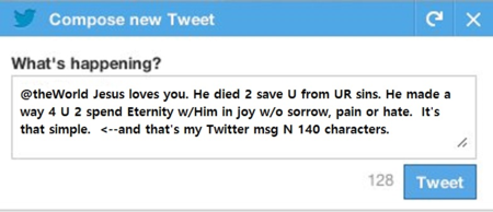 TweetMessage