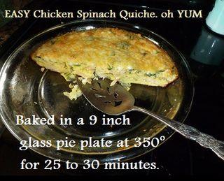 Chicken Quiche