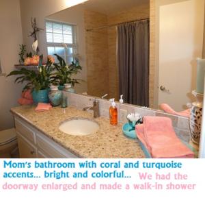Mom's bathroom
