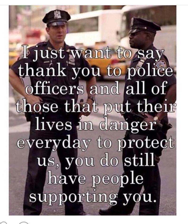 Police thankyou