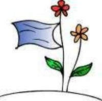 Whiteflagandflowers