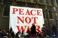 Peacenotwarbanner